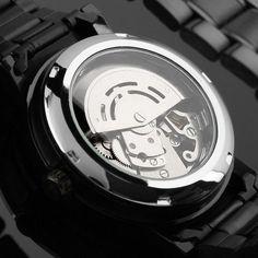 b3c0e59af3a Relógio Winner Automático Black Edition