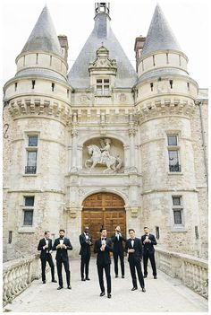 @janawilliamsxo A Dream Wedding at the Chateau D'Esclimont Castle - Jana Williams Photography Blog