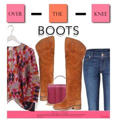 """""""Eco Chic: Over-the-Knee Boots"""" by kurious ❤ liked on Polyvore featuring Beyond Skin and Urban Expressions"""