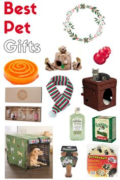 We all love our pets because they are such a big part of our family. This holiday, let's not forget those lovable fur babies of ours! I've rounded up some of the best pet gift ideas... I hope you (and your pet) like them!