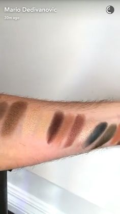 Makeup by Mario palette anastasia Beverly Hills snap chat leak