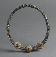 eltic torque from the Century BCE, Bronze