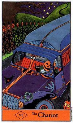 The Chariot - Halloween Tarot
