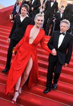 Sharon Stone, Emanuelle Seigner, Roman Polanski, Cool Girl, Formal Dresses, Girls, People, Tops, Fashion