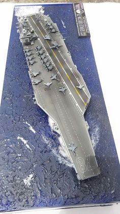 1/700 USS Gerald R Ford CVN-78 (Conversion\Scratch) Lego Warship, Lego Aircraft Carrier, Model Warships, Scale Model Ships, Navy Carriers, Uss Nimitz, Capital Ship, Aircraft Painting, Military Modelling