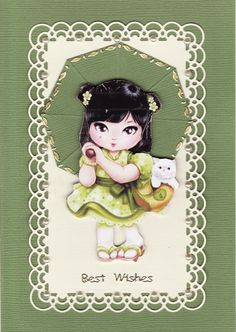 3D 'Best Wishes' Card