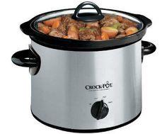 Enter to Win a Crock-Pot 3-Quart Slow Cooker #giveaway @Flash_Giveaways via: http://swee.ps/lVNOEAsT