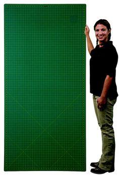 Large Self Healing Cutting Mat with Grid, 3 x 6 ft. Magic Mat