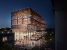 "Kengo Kuma Presents Shortlisted Design for ArtA ""Civic Center"" in Arnhem"