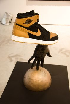 "Luis Gispert ""Michael Jordan"" (2014), Stefan Lundgren Gallery/ Mallorca Landings Art Fair, Michael Jordan, Vienna, Contemporary Art, Jordans, Gallery, Sneakers, Fashion, Tennis"