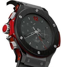 Hublot Big Bang Project F Bang Black Dial Mens Watch 309G.CM.110.RX