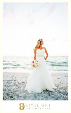 64bbc7599d The bride, beach picture, Gasparilla Inn, Limelight Photography,  www.stepintothelimelight.
