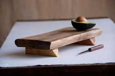 Bistro Cutting Board Rustic Serving Tray Wooden Platter Maple Footed Cheese Board Gift for Foodies