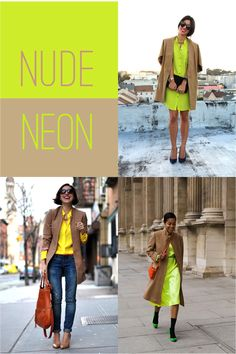 NUDE AND NEON outfit inspo 1