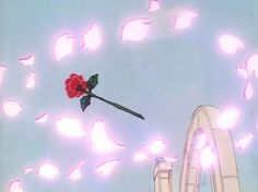 Nervous Thoughts And Pretty Things Blue Aesthetic, Aesthetic Anime, Kawaii, Retro Cartoons, Old Anime, Animation, Anime Screenshots, Anime Scenery, The Villain