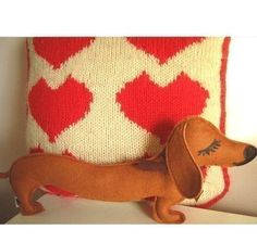 weiner dog plush