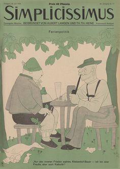 Simplicissimus·die historische Satirezeitschrift·Blättern