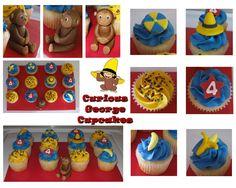 curious george cupcakes