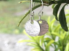 Silver Textured Earrings, Hammered Bark Effect, Tiny Disc Earrings, Silver Disc Drop Earrings. by LillyAlexandraSilver on Etsy https://www.etsy.com/uk/listing/516444214/silver-textured-earrings-hammered-bark #texturedearrings #silvertextured #handmadesilverearrings #tinydiscearrings #silverdiscdropearrings #925roundearrings #lillyalexandrasilver