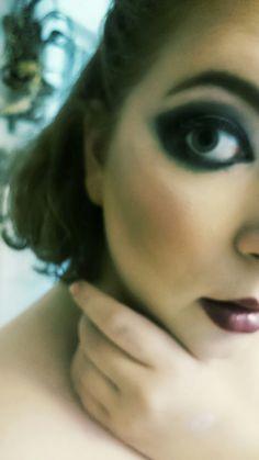 Oldschool glam makeup 💄