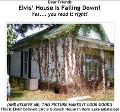 Elvis' Circle G Ranch in Disrepair