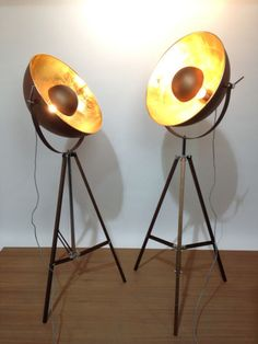 Copper Domed Stagelight