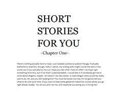 write for you fiction of any kind by zanzetton