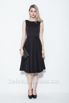 Elegant Sleeveless Knee Length Cocktail Party Dress TCDB0115