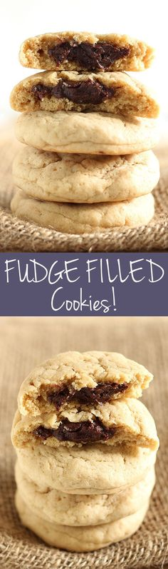 What's better than a cookie stuffed with FUDGE