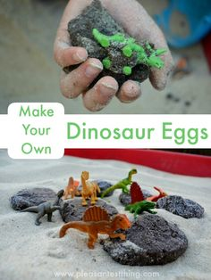 Mesozoic: How to Make Your Own Dinosaur Eggs!