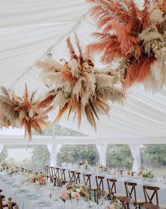 Everything sparkles under a [floral] chandelier ✨ As seen on: 📸: Floral Design: Chic Wedding, Floral Wedding, Wedding Flowers, Bouquet Wedding, Wedding Table, Wedding Reception, Flower Decorations, Wedding Decorations, Flower Installation