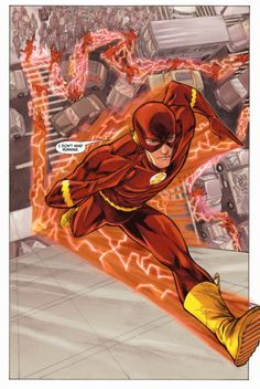 The Flash Running Up a Building - Francis Manapul