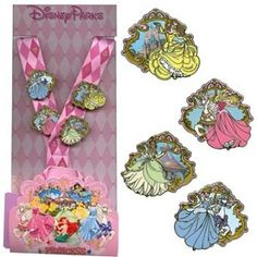 Disney Lanyard Pin Starter Set - Princess