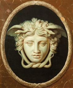 Medusa plaque Juan Albero Zepeda Méndez hijo de Juan Zepeda dona esculturas a Italia