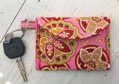 Key Ring Wallet/Card