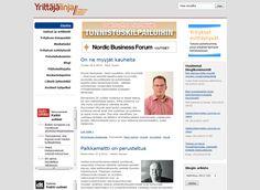 Yrittäjälinja -lehdet ovat alueellista yritystoimintaa käsitteleviä lehtiä. Lehtien tueksi verkkoon toteutettiin Yrittajalinja.fi -sivusto, joka tukee Yrittäjälinja julkaisun printtisisältöä.