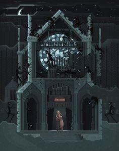 Scene #04: 'Maybe We Should Go Back'Pixel Art illustrations by Octavi NavarroSupport my work on Patreon: https://www.patreon.com/pixelshuhwww.pixelshuh.com