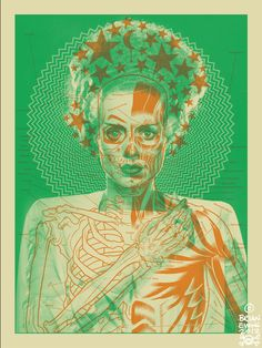 Bride of Frankenstein gig poster by Brian Ewing for the Swans Rock Posters, Music Posters, Band Posters, Concert Posters, Film Posters, The Frankenstein, Arte Horror, Halloween Design, Happy Halloween