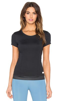 adidas by Stella McCartney The Performance Tee in Black | REVOLVE