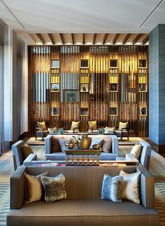 The St. Regis Lhasa Resort—Tea Room by St Regis Hotels and Resorts  | Hotel Interiors Inspirations #hotelinteriors #hoteldesign #luxuryhotel #hotellobby #hotelboutique #hotelbedroom http://www.bykoket.com/home.php