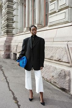 More looks by Sylvie Mus: http://lb.nu/sylviemus  #classic #edgy #street #oversize #blazer #androgynous
