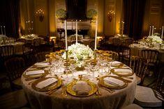 V Bielom dome sa uskutočnila večera s mnohými hosťami.