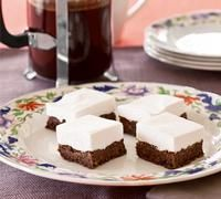 Chocolate marshmellow slice (I loved this as a kid!!)