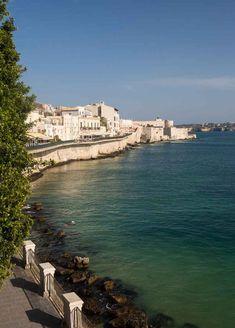 Ortigia Sicily seafront