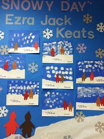 1st Grade in One Year: The Snowy Day Art