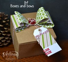 Jen Timko - Dec FB - Boxes and Bows