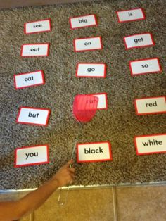 Time for Play: Sight and Word Family Games
