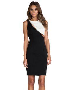 Lovers + Friends x Monica Rose Westville Dress in Black