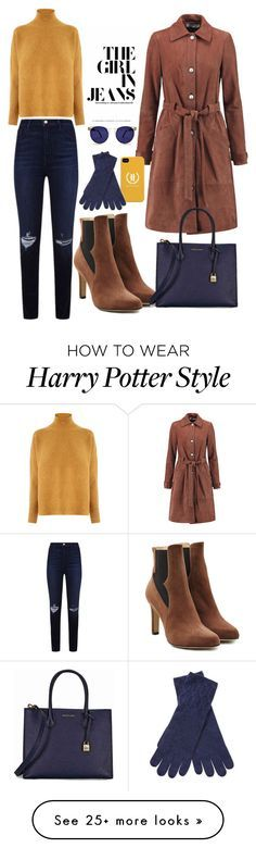 """""""NYFW"""" by andin-ann on Polyvore featuring Paul Andrew, Elizabeth and James, J Brand, Warehouse, Michael Kors, Qi Cashmere and Spitfire"""
