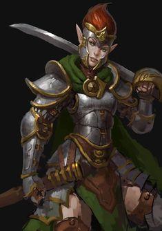 Elf Captain Danila Kalinin